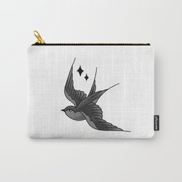Swallow Flash - mono Carry-All Pouch