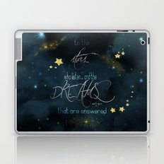 To the stars who listen... Laptop & iPad Skin