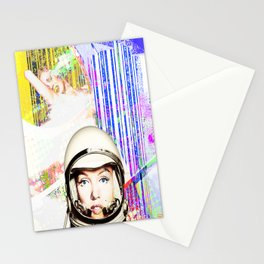 astronaut norma jeane Stationery Cards