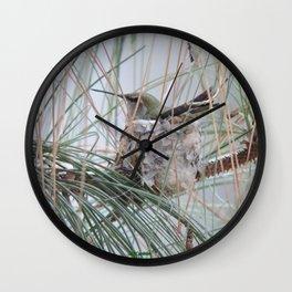 Pine Veil Nesting Wall Clock