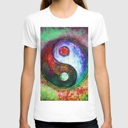 Yin Yang - Colorful Painting III T-shirt