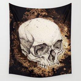 Skull Study No.6 (aka - Barrie) Wall Tapestry