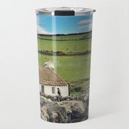 Thatched cottage, Ireland Travel Mug