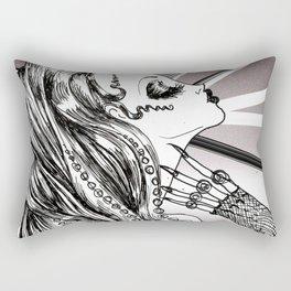 Mademoiselle Octopussy Rectangular Pillow