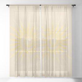 Sunshine / Sunbeam 3 Sheer Curtain