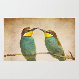 Love time. Bee-eaters Rug