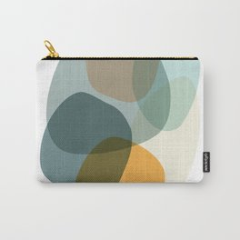 Cool Zen Abstract Organic Shapes Carry-All Pouch