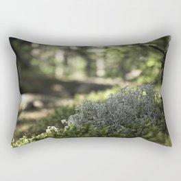 Mountain Forest Floor Rectangular Pillow