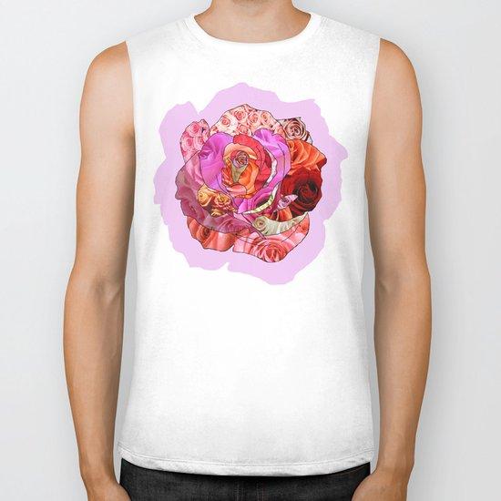 Rose Of Roses Biker Tank