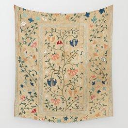 Uzbekistan Suzani Nim Embroidery Print Wall Tapestry