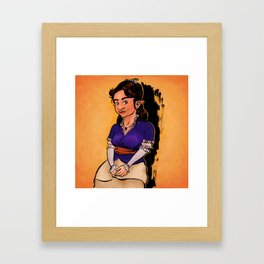 Yvette Framed Art Print