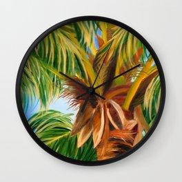Majestic Palm Wall Clock