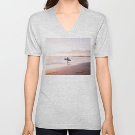 Venice Beach Surfer Unisex V-Neck