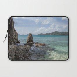 Caribbean Beach Photograph Laptop Sleeve