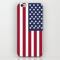 america iPhone & iPod Skins featuring America. by Jake  Williams