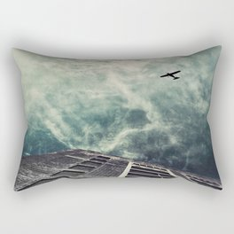 Boston [Sky cut 414] Massachussets, Usa Rectangular Pillow