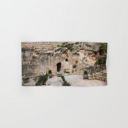 jesus christ tomb israel Hand & Bath Towel