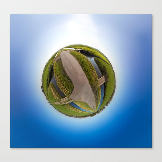 Polderworld Canvas Print