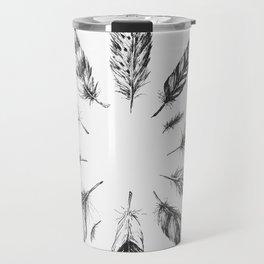 circulo de plumas Travel Mug