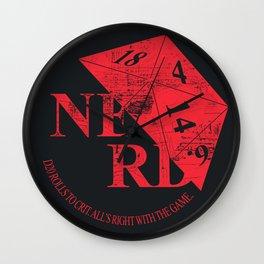 N.E.R.D. Wall Clock