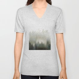 After the Rain Unisex V-Neck