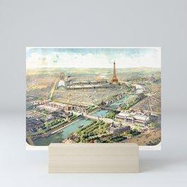 Paris World Fair 1900 Mini Art Print