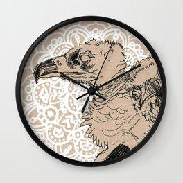 Vultures Wall Clock