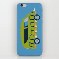 1975 iPhone & iPod Skins featuring Death Race 2000 Alligator Van by Brandon Ortwein