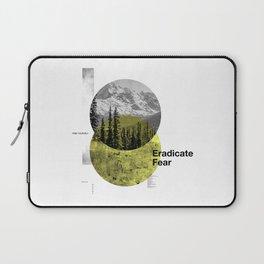 Eradicate Fear Laptop Sleeve