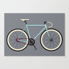 Classic Road Bike Canvas Print