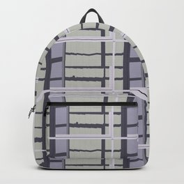 City Road Check Backpack