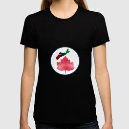 I Love Nova Scotia Canada T-shirt