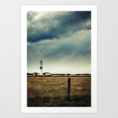 Lighthouse of Kampen Art Print