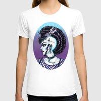 punk rock T-shirts featuring Punk Rock Girl by Eeriette