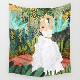Forest Bride Wall Tapestry