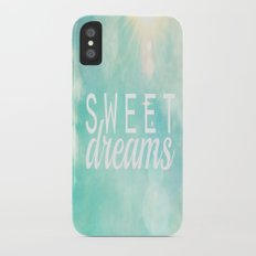 Sweet Dreams  Slim Case iPhone X