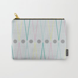 Soft triangles Carry-All Pouch