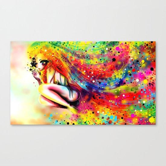 SHE IS RAINBOW Canvas Print
