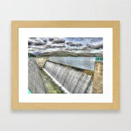 Si no te gusta el dia... pintalo! Framed Art Print