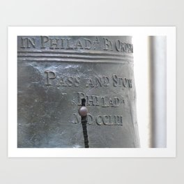 Liberty Bell Philadelphia Art Print