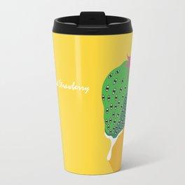 Greeneyed Strawberry Travel Mug