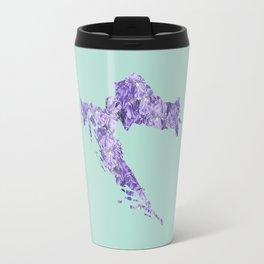 Croatia in Flowers Travel Mug