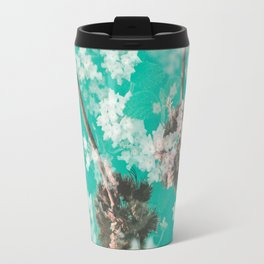 Palm Flowers v.1 Travel Mug