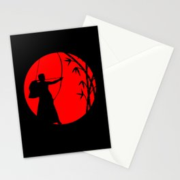 Archery - Fear Of Gold No Thanks Stationery Cards