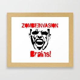 Halloween - Zombie - Invasion Framed Art Print