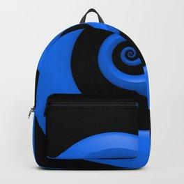 Curl, Blue Backpack