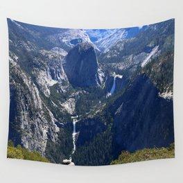 Vernal Falls And Nevada Falls Wall Tapestry