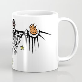 Fire Bat Coffee Mug