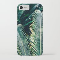 palm tree iPhone & iPod Cases featuring Palm Tree by Pati Designs