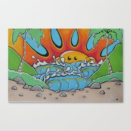 Sunny Peak Print Canvas Print